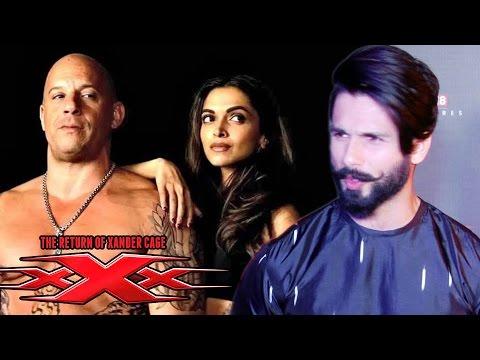 Shahid Kapoor BEST Review on XXX | Vin Diesel, Deepika Padukone, D.J Caruso