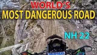World's most dangerous road | Peo to Tabo | National Highway 22 | Day 3 |