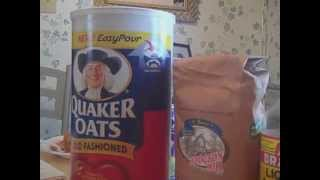 HOW TO MAKE VEGETARIAN SOY-OATMEAL MEAT SUBSTITUTE - RHOTMH