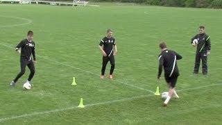 Master ball control | Soccer training drills | Nike Academy