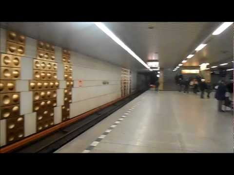 Metro Prag / Praha - Station Háje Linka C
