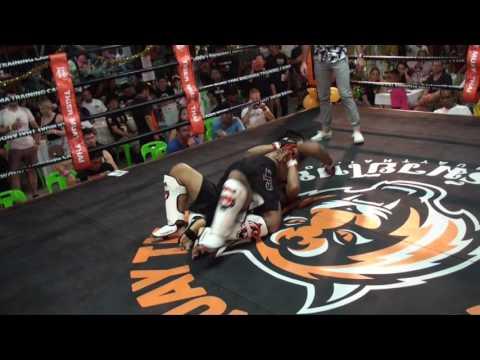 BBQ Beatdown 100 MMA Fight Jimmy vs Ratchapon