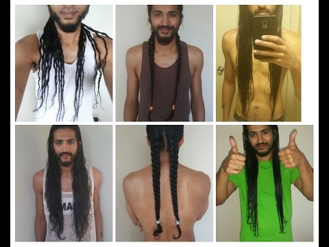 Man Grows Long Indian Hair For 5 Years | Hair Journey Chronicles