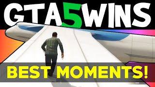 GTA 5 WINS – Best Moments (Funny moments + GTA 5 Stunts compilation Grand theft Auto V Gameplay)