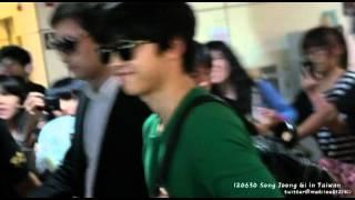120630 宋仲基 songjoongki in Taiwan Airport