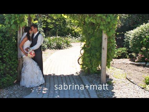 The Wedding Montage of Sabrina Matt