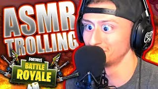Relaxing People With ASMR ON FORTNITE #2 *Hilarious Reactions!*