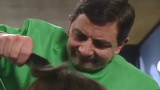 Mr. Bean - Episode 14 - Hair by Mr. Bean of London - Part 2/5