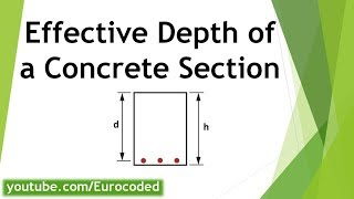 What is Effective Depth of a Concrete Section?