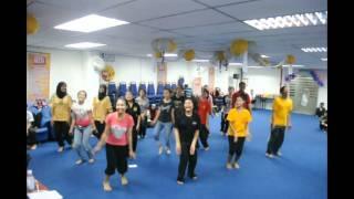 Sample for fun aerobics-lagu tamil.wmv