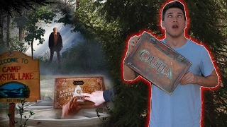 OUIJA BOARD AT HAUNTED CAMP GROUND / CRYSTAL LAKE GONE WRONG! ( FRIDAY THE 13TH )