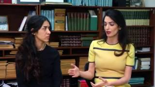 Amal Clooney discusses Islamic State genocide in Iraq