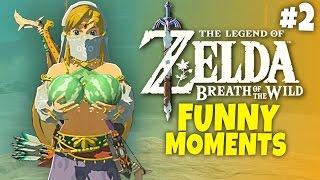 Zelda: Breath of the Wild - Funny Moments #2 - Schwoman