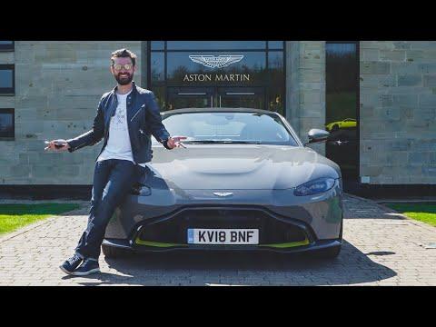Xxx Mp4 Taking Delivery Of The NEW Aston Martin Vantage 2018 3gp Sex