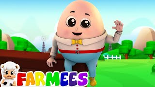 Humpty Dumpty | Nursery Rhymes | 3d Baby Songs