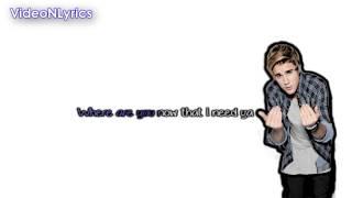 Skrillex & Diplo Feat. Justin Bieber - Where are u now [Karaoke/Instrumental] With Lyrics