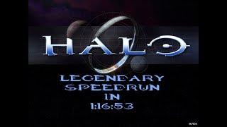 [WR] Halo: CE Legendary Speedrun in 1:16:53