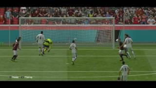 AC Milan Leonel Vangioni first goal in carrer for Milan Fifa 16 Online