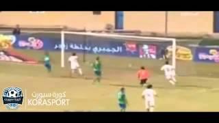 هدف التعادل الثاني للزمالك الذي احرزه مصطفى فتحي