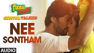 Nee Sontham Full Song (Audio) ||