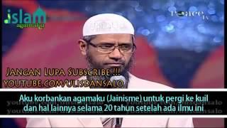 Seorang Bapak Mengabarkan Ilmu Yang Tersembunyi Kepada Dr  Zakir Naikrays s a