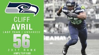 #56 Cliff Avril (DE, Seahawks) | Top 100 Players of 2017 | NFL