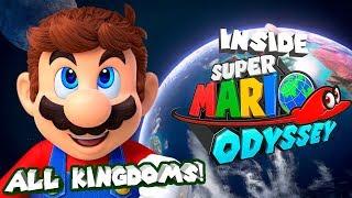 Super Mario Odyssey - All Kingdoms So Far + Moon! (Full Map)