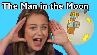 The Man in the Moon and More Moon Songs | Nursery Rhymes from Mother Goose Club!