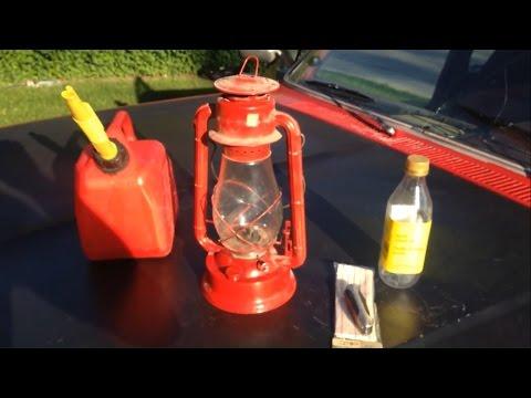 Diesel fuel in Kerosene lamp EXPERIMENT