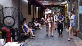 上海、田子坊を歩く