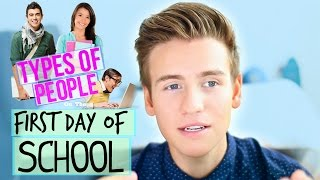BACK TO SCHOOL: Types Of People!