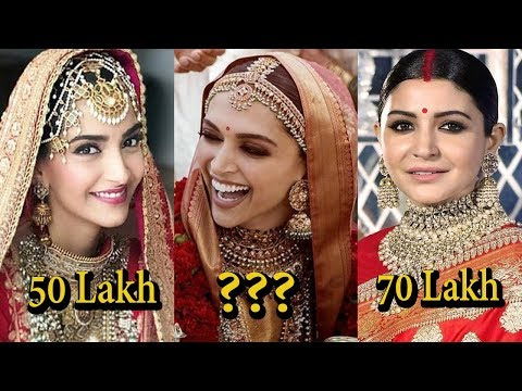 Xxx Mp4 10 Most Expensive Wedding Dresses Of Bollywood Actress I 2018 3gp Sex