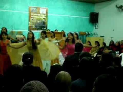 coreografia gospel expressão de adoração