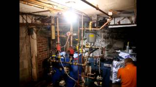 Right Energy Halifax - Timelapse of boiler re-piping