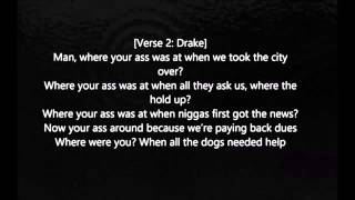 Future - Where Ya At Feat .drake[ Official Audio with lyrics ]