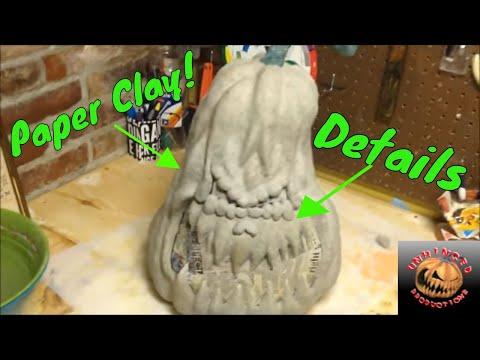 Xxx Mp4 How To Make An Awesome Paper Mache Pumpkin 2nd Generation Part 2 3gp Sex