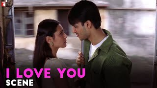 I Love You   Scene   Saathiya   Vivek Oberoi   Rani Mukerji