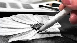 HOW TO BLEND CHARCOAL DRAWINGS - 4 EASY WAYS!
