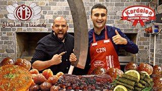 تحدي ٢٠٠ حبة كستناء + اتحديت شيف بوراك 🌰 Sugar Chestnut 200 Piece Challeng + Chef Burak Özdemir