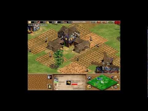 tutorial pasar a castillos en 17 mins aoe 2 expansion pasar a castillos rapido aoe 2 conquerors