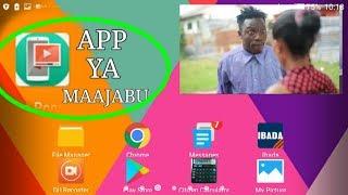 APP YA MAAJABU AMBAYO UNAWEZA KUANGALIA VIDEO HUKU UNAFANYA MENGINE KWENYE SIMU.