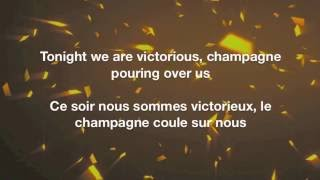 Victorious - Panic! At The Disco Lyrics English/Français