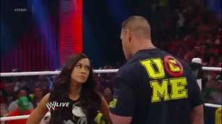 WWE Raw 11_19_12 Full Show John Cena And AJ Lee Kiss To The Dismay Of Vickie Guerrero