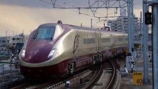 FGT(フリーゲージトレイン)の熊本駅入線(在来線)