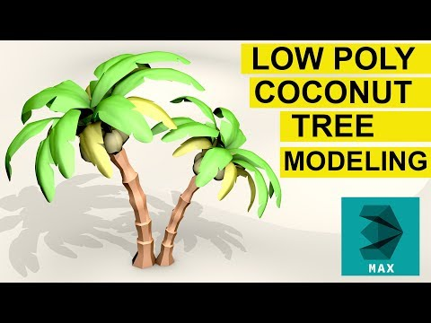 Xxx Mp4 Low Poly Coconut Tree Modeling In 3ds Max And Free Download 3gp Sex