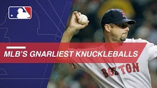 MLB Knuckleball Reel: Good luck hitting these