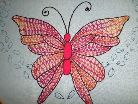 Bordado Fantasía Mariposa 2