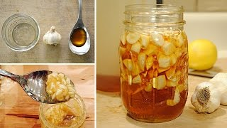 Boost Your Immune System with Garlic Infused Honey (recipe)