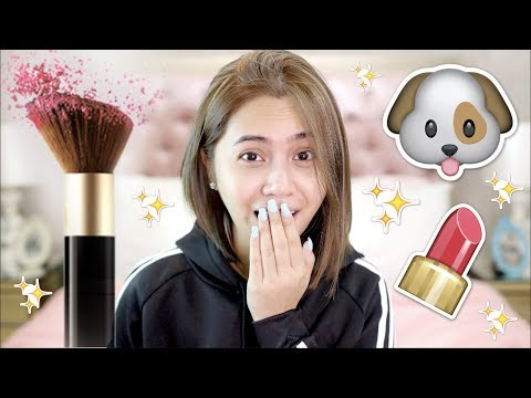 MY DOGS Pick My Makeup | Anna Cay ♥