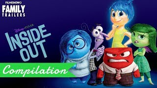 INSIDE OUT | All Clips and Trailer compilation for the Disney Pixar family movie